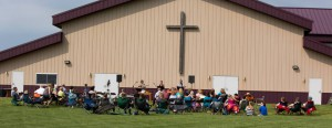 Outdoor worship june 1 2014