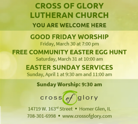 Cross of Glory Holy Week 2018