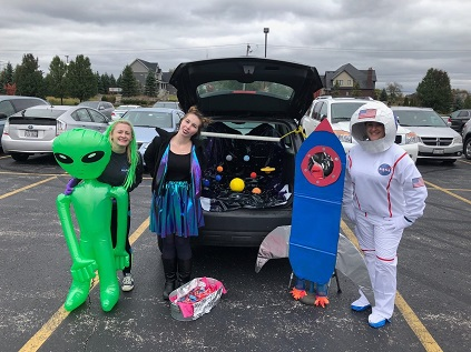 Annual Trick or Treat Tailgate Oct 26th!
