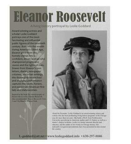 Women's Group – Eleanor Roosevelt Movie