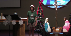 July 11, 2021 Service – Christmas in July