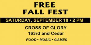 Free Fall Fest – September 18, 2021
